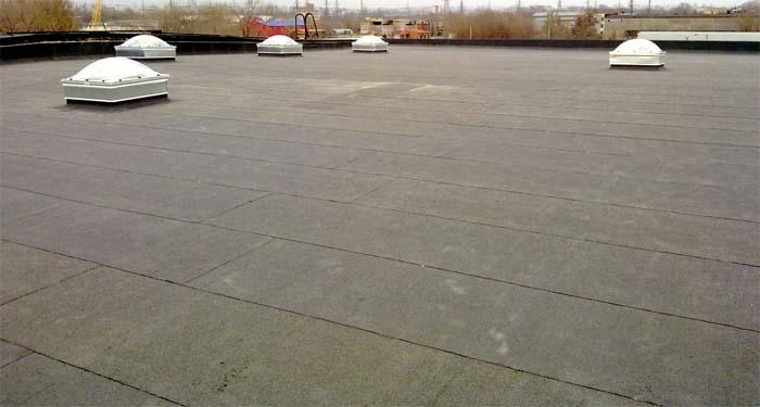 рубероид крыша для дома - строительство Алматы, Астана