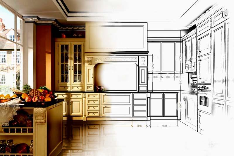планировка кухни статья
