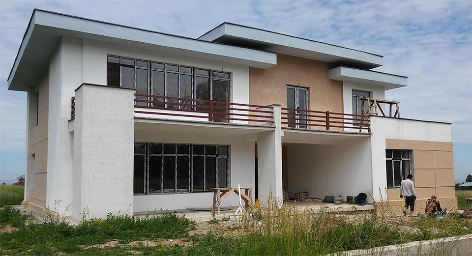 Строительство жилого дома под ключ