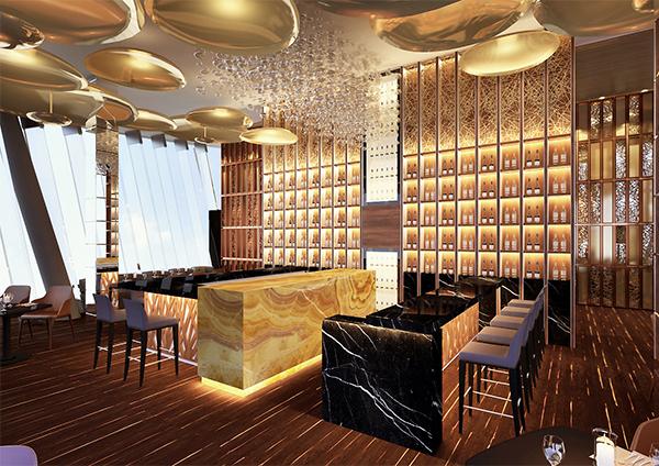 Дизайн-проект ресторана Алматы