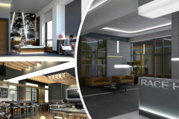 Проектирование отеля Алматы Race Hotel Сокол