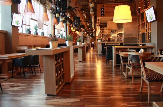 Roma Cafe Ресторан под ключ Алматы